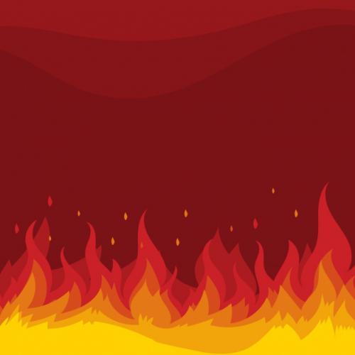 آموزش انیمیت آتش با Wiggle در افترافکت