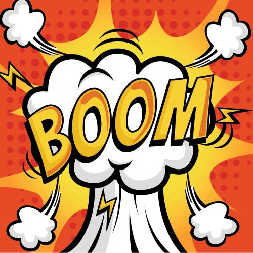آموزش دود انفجار برای موشن گرافیک در افترافکت