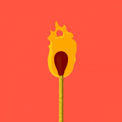 آموزش انیمیشن سوختن آتش کبریت سینمافوردی2